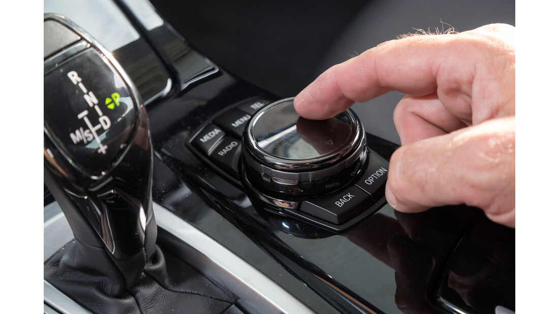 BMW 530d M Sportpaket, Bedienelement