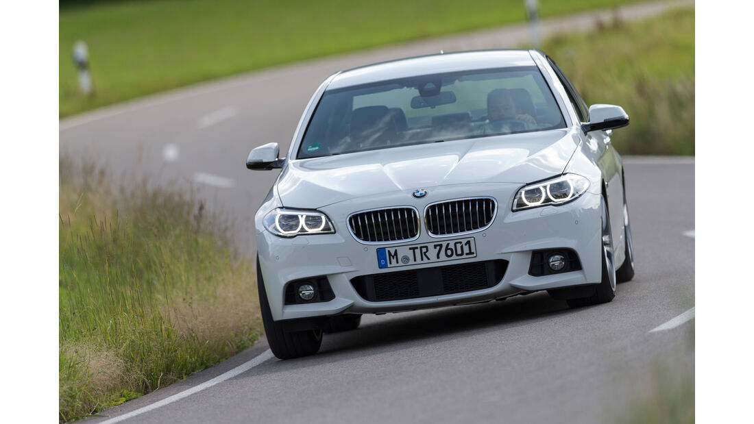 BMW 530d M Sportpaket, Frontansicht