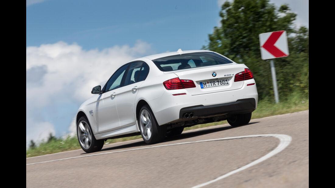 BMW 530d M Sportpaket, Heckansicht