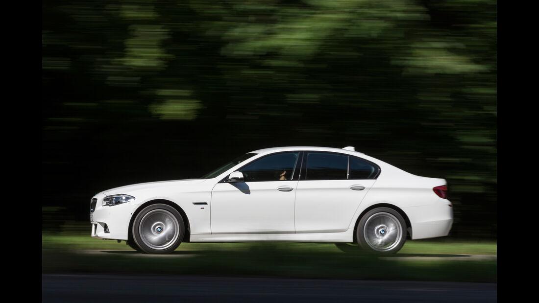 BMW 530d M Sportpaket, Seitenansicht