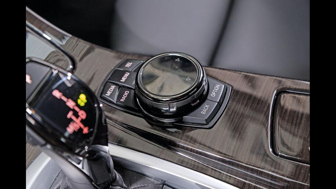 BMW 530d, Mittelkonsole