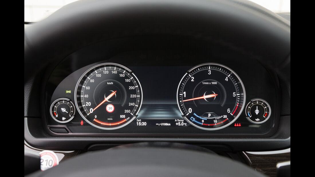 BMW 530d, Rundinstrumente