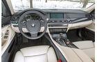BMW 530d Touring, Cockpit, Lenkrad