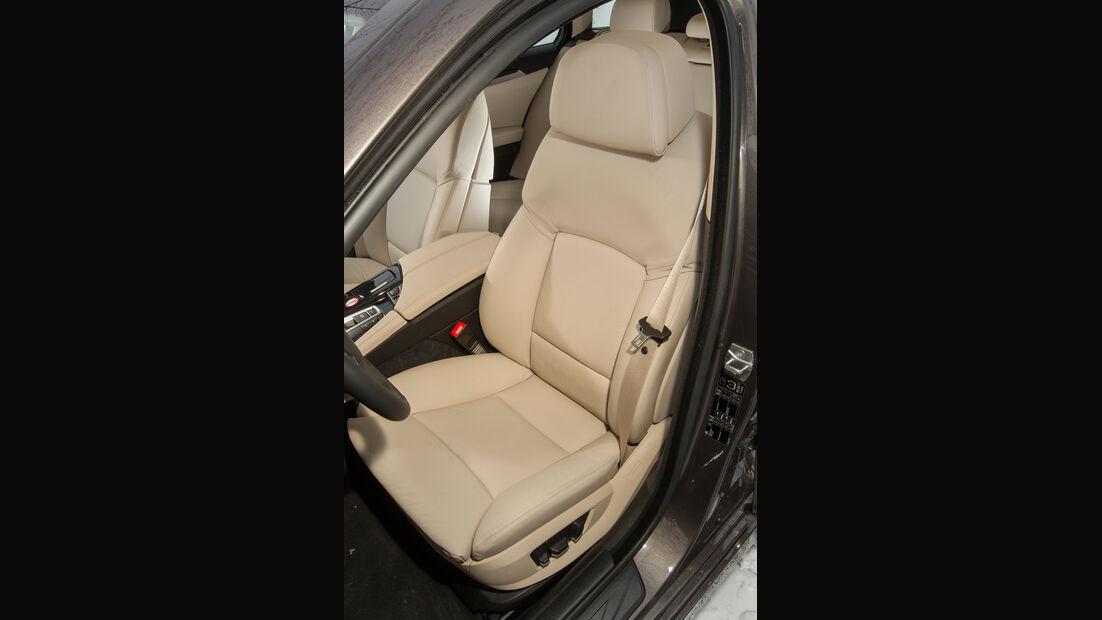 BMW 530d Touring, Fahrersitz