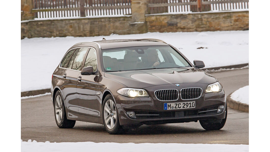 BMW 530d Touring, Frontansicht