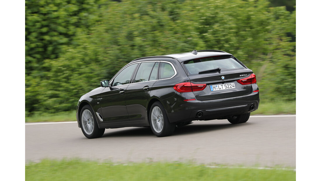 BMW 530d Touring Heck