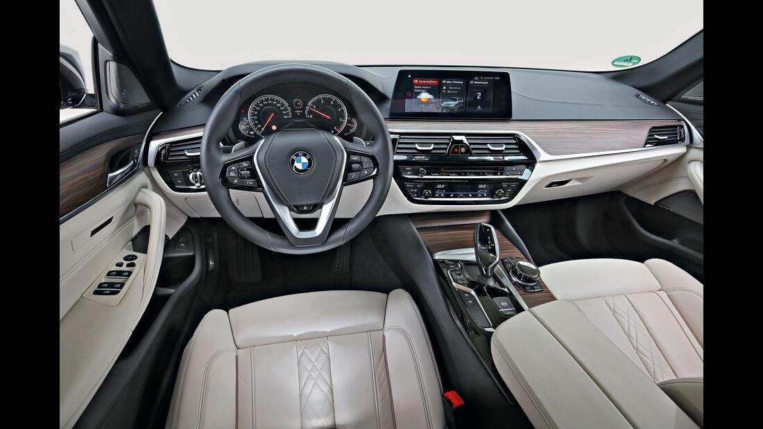 BMW 530d Touring Interieur