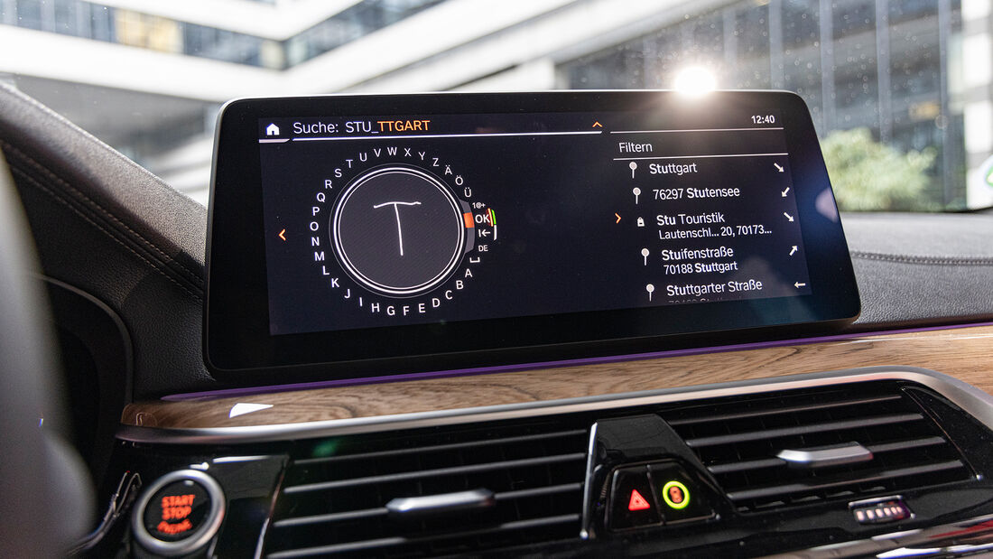BMW 530d Touring, Interieur