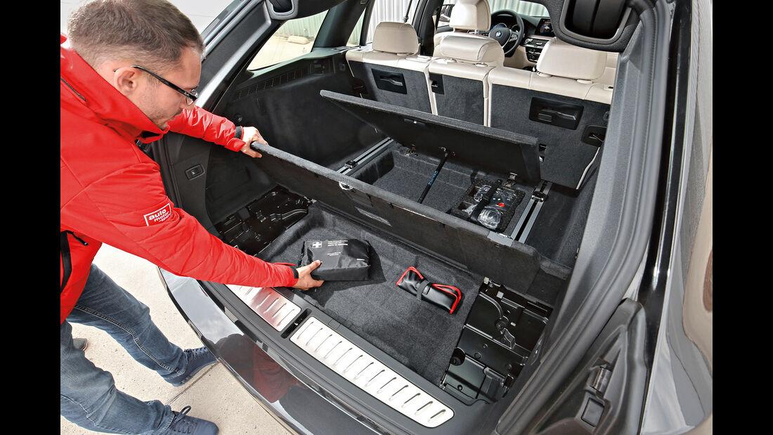 BMW 530d Touring Kofferraum