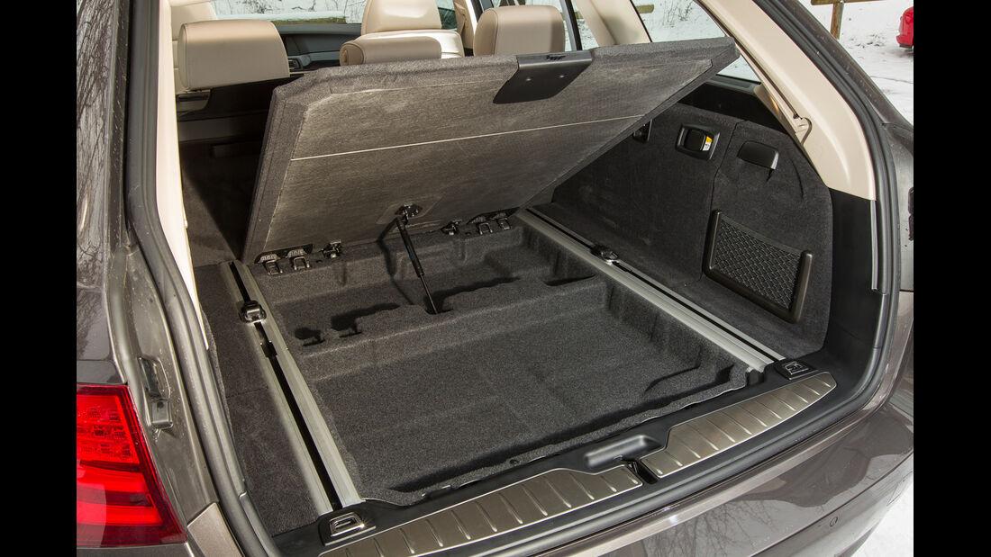 BMW 530d Touring, Kofferraum