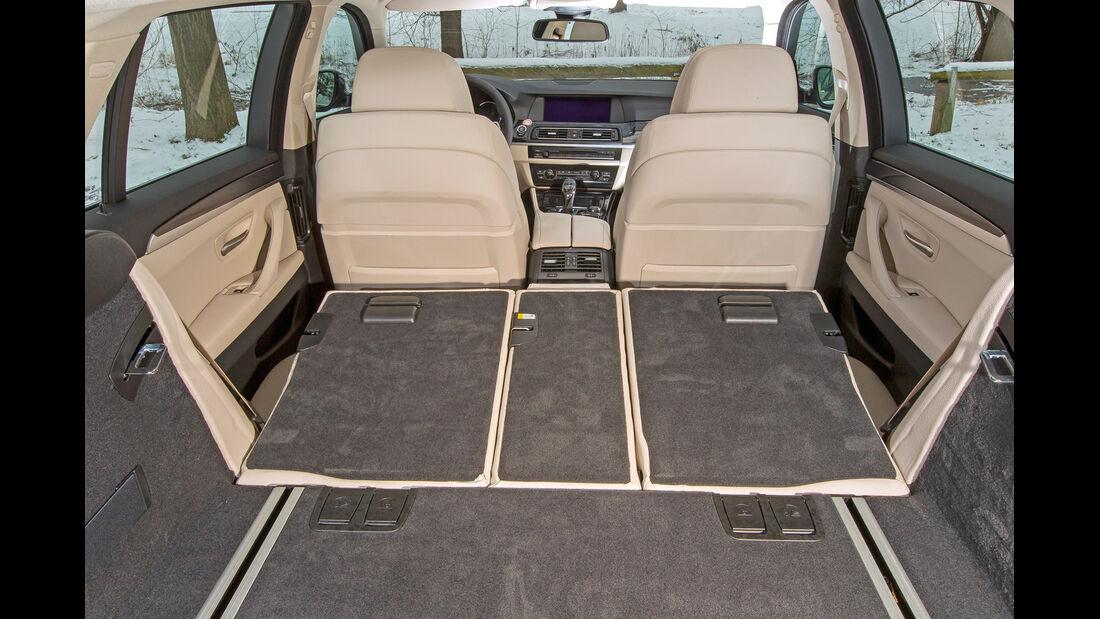 BMW 530d Touring, Kofferraum, Ladefläche