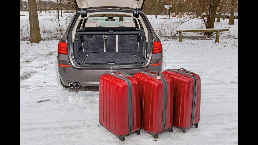 BMW 530d Touring, Kofferraum, Ladevolumen