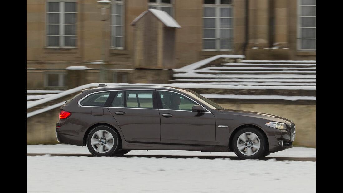 BMW 530d Touring, Seitenansicht