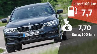 BMW 530d Touring Sport Line Realverbrauch