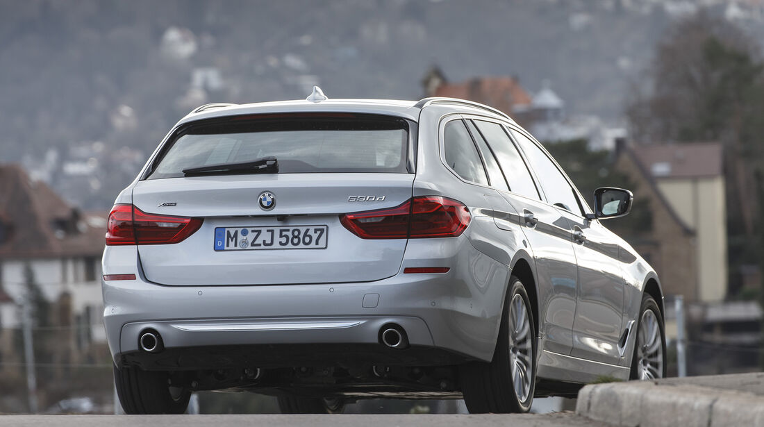 BMW 530d Touring xDrive Luxury Line, Exterieur