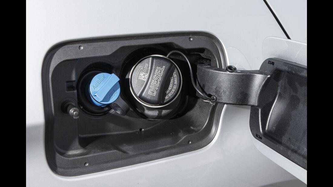 BMW 530d Touring xDrive Luxury Line, Tankdeckel