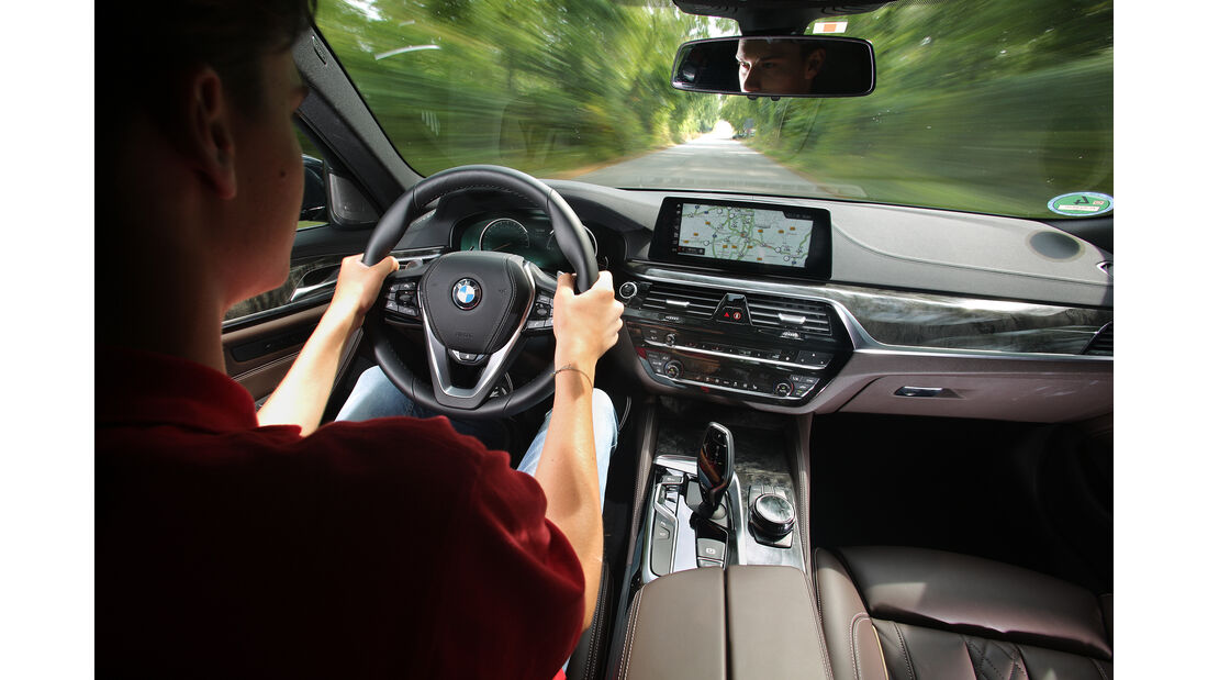 BMW 530d xDrive, Interieur