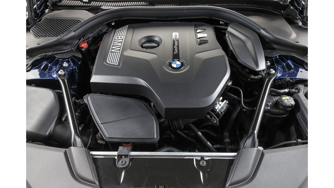 BMW 530i Luxury Line, Motor