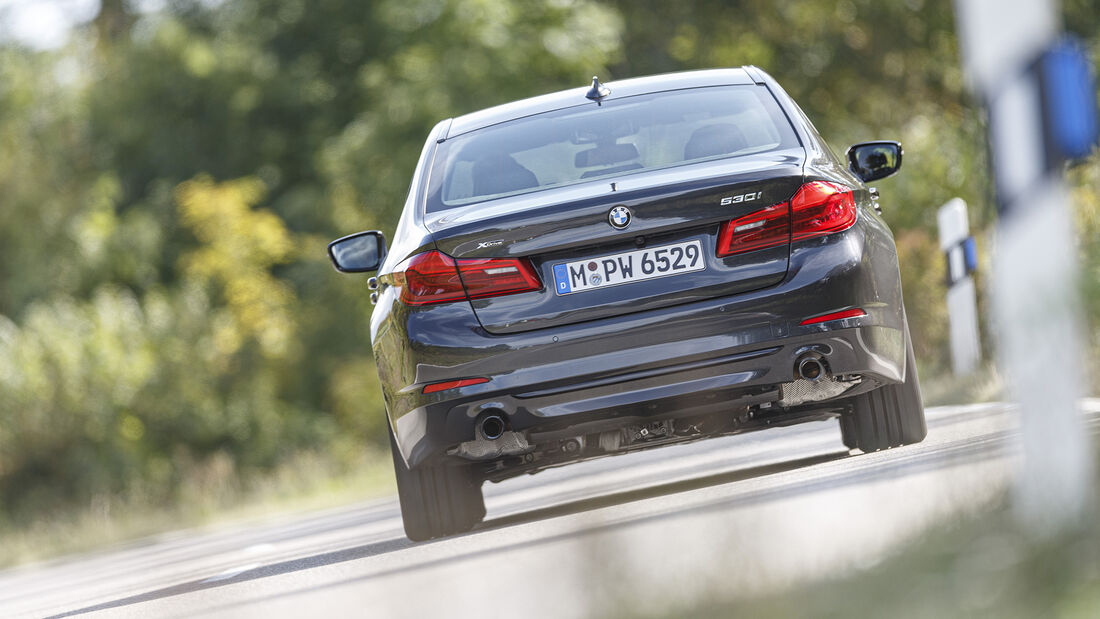 BMW 530i xDrive Sport Line, Exterieur