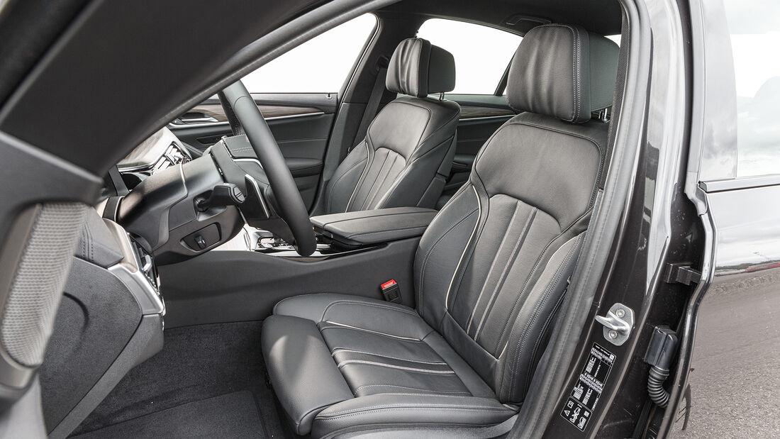 BMW 530i xDrive Sport Line, Interieur