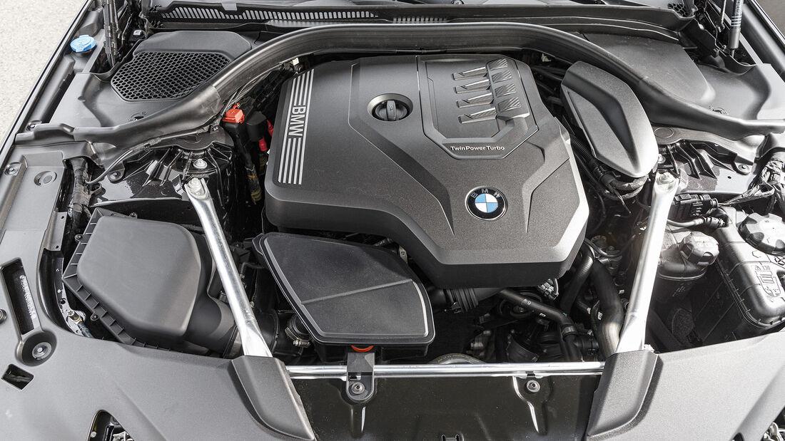 BMW 530i xDrive Sport Line, Motorraum