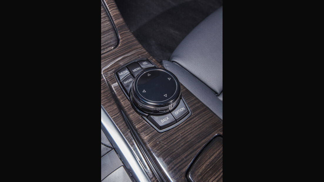 BMW 535d, Bedienelemente