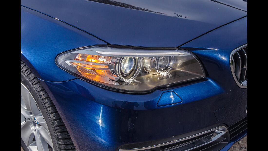 BMW 535d, Frontscheinwerfer
