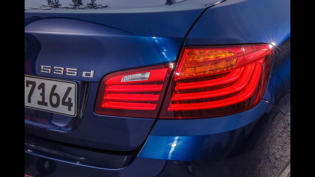BMW 535d, Heckleuchte