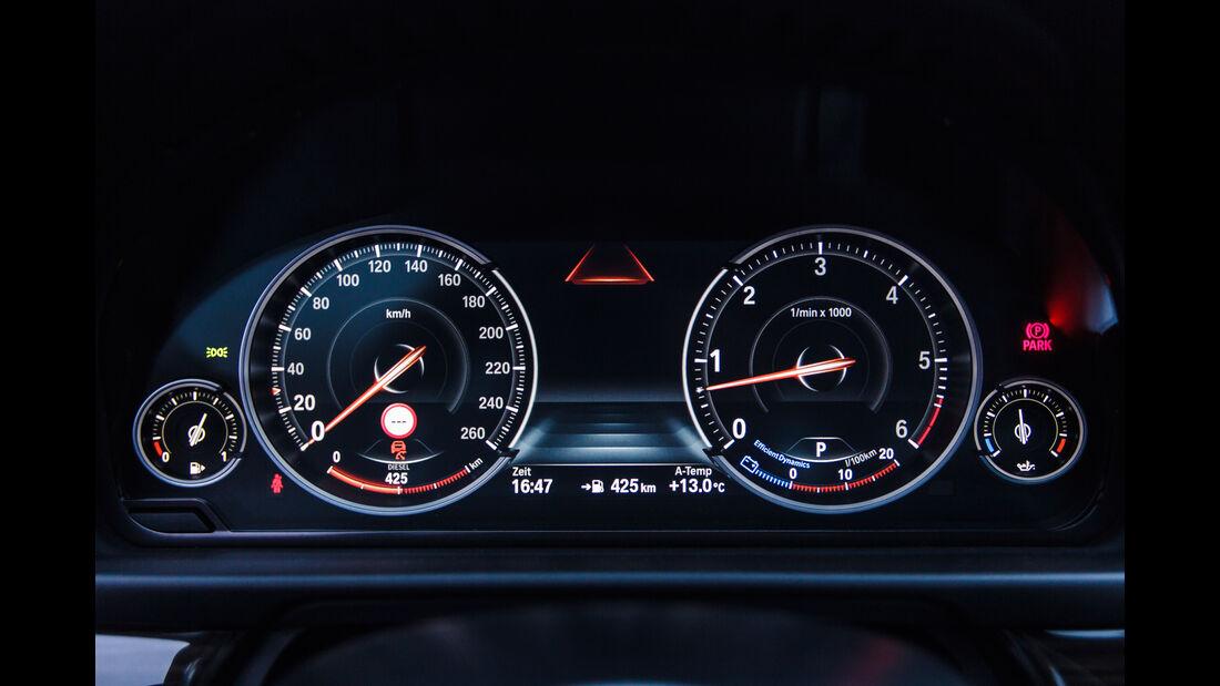BMW 535d, Rundinstrumente