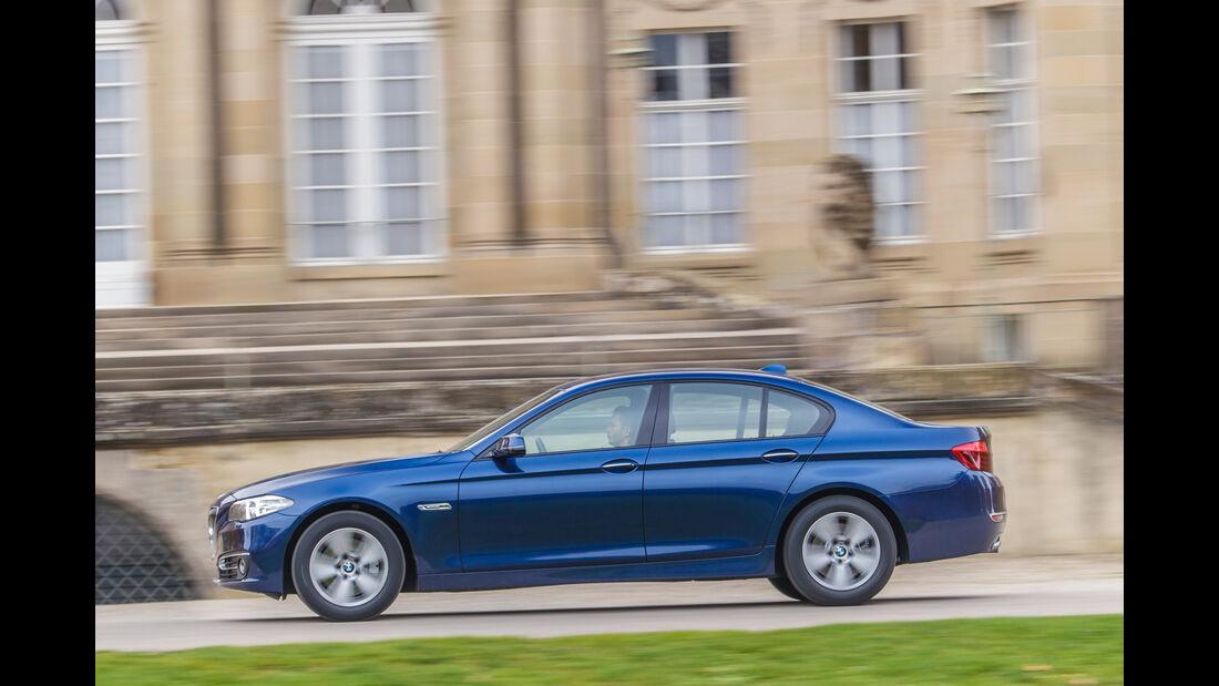 BMW 535d, Seitenansicht