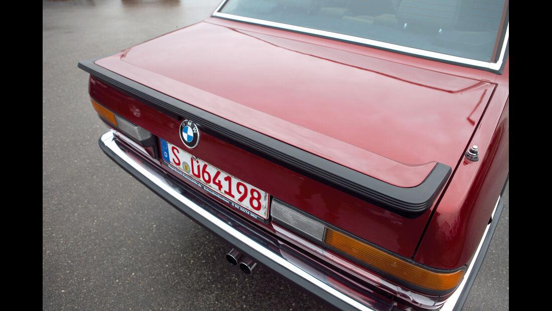 BMW 535i, 281 PS E 28, Kofferraumklappe