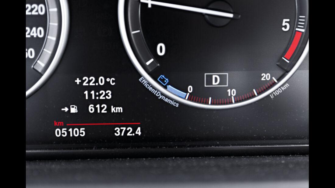 BMW 535i, BMW 535d, Detail, Anzeigeinstrumente