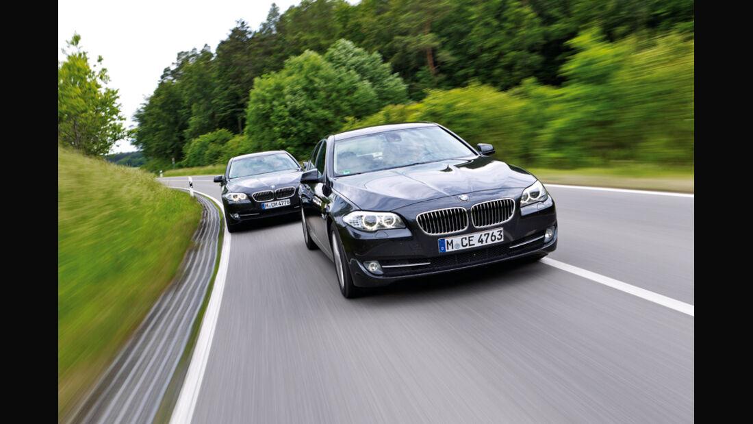 BMW 535i, BMW 535d, Frontansicht