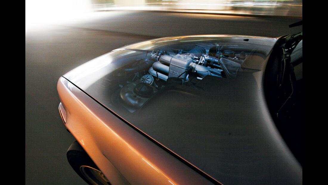 BMW 535i, Detail, Motor