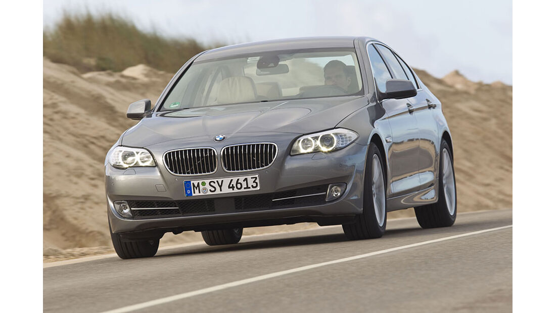 BMW 535i - Frontansicht