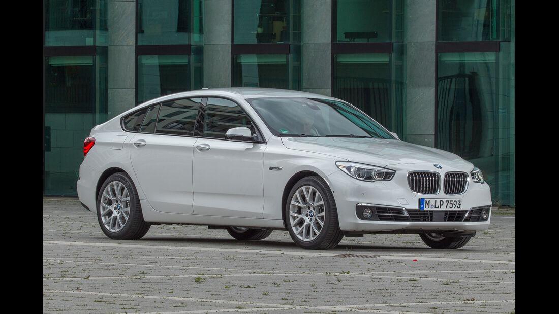 BMW 535i Gran Turismo, Frontansicht