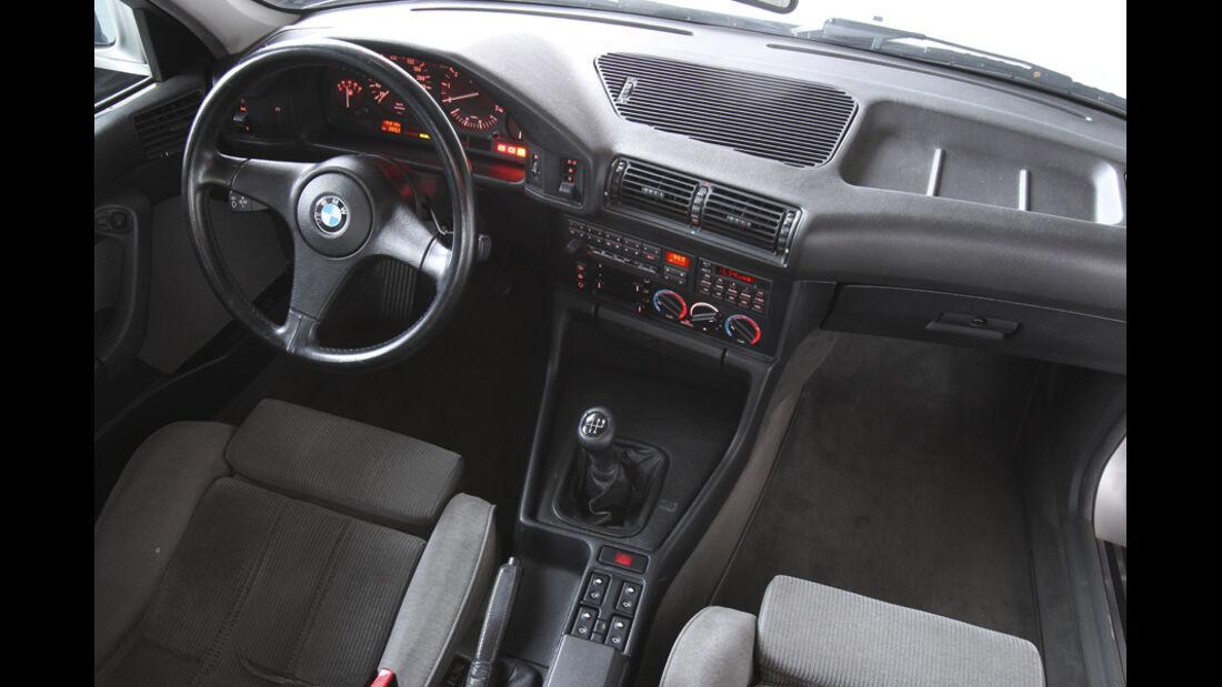 BMW 535i, Innenraum