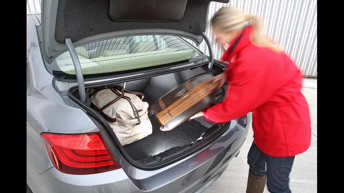 BMW 535i Kofferraum