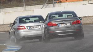 BMW 535i, Mercedes E 350 CGI