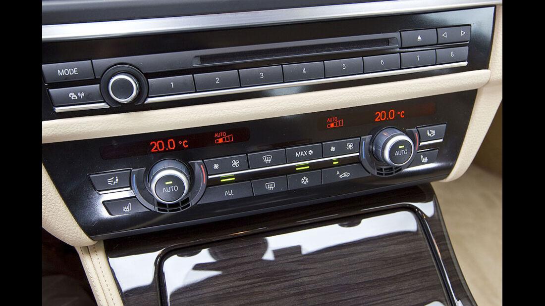 BMW 535i Mittelkonsole