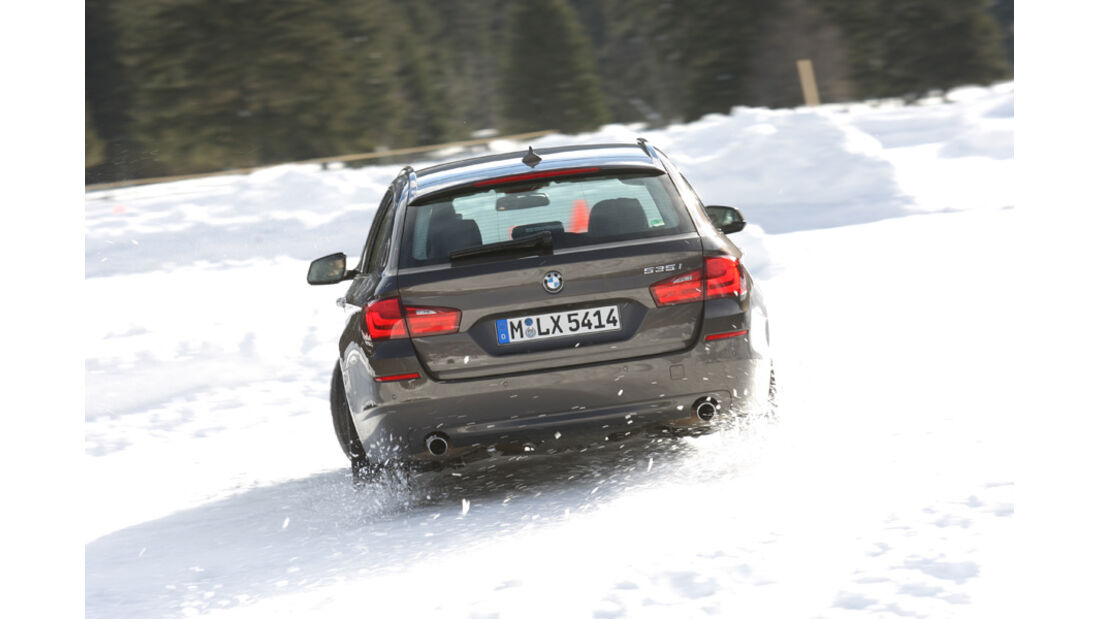 BMW 535i Touring, Heck