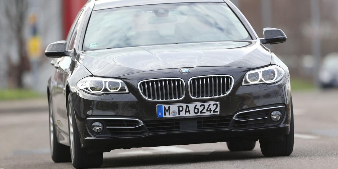 BMW 535i Touring xDrive, Frontansicht