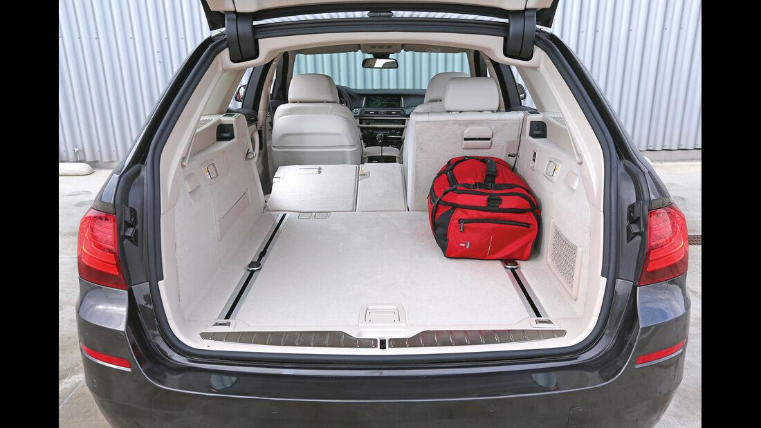 BMW 535i Touring xDrive, Kofferraum