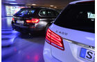 BMW 535i Touring xDrive, Mercedes E 400 T 4Matic,