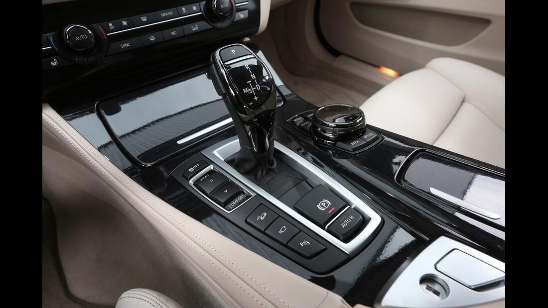 BMW 535i Touring xDrive, Schalthebel