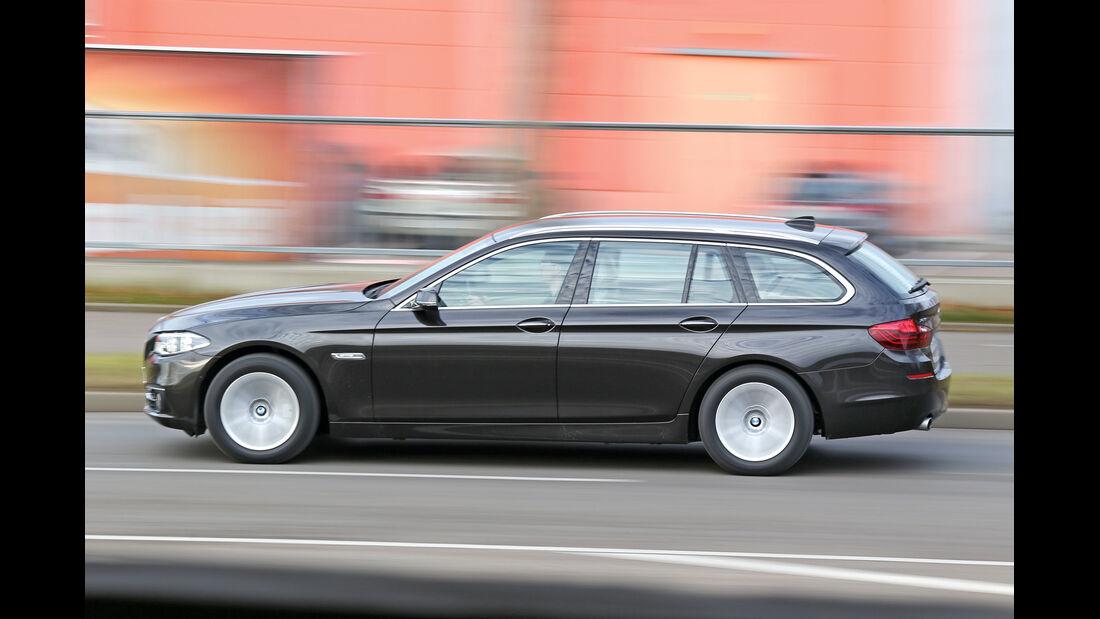 BMW 535i Touring xDrive, Seitenansicht