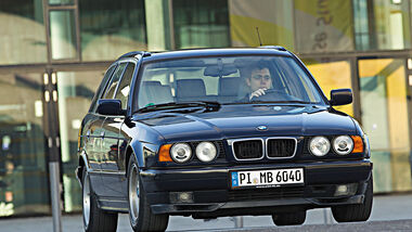 BMW 540i Touring, Frontansicht