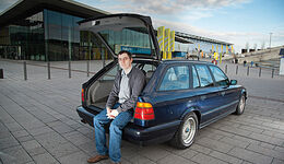 BMW 540i Touring, Heckklappe, Jan Fleischer