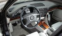 BMW 540i Touring, Lenkrad, Cockpit