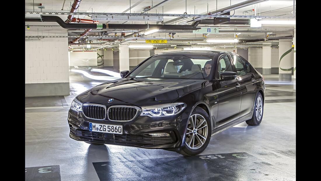 BMW 540i xDrive, Frontansicht